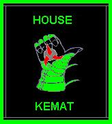 Klingon House Crest/Logo for House Kemat